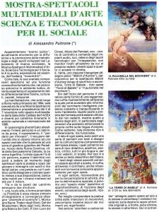 1 Alessandro Pultrone IncontrArti arte e scienza per il sociale 1993_ pag10