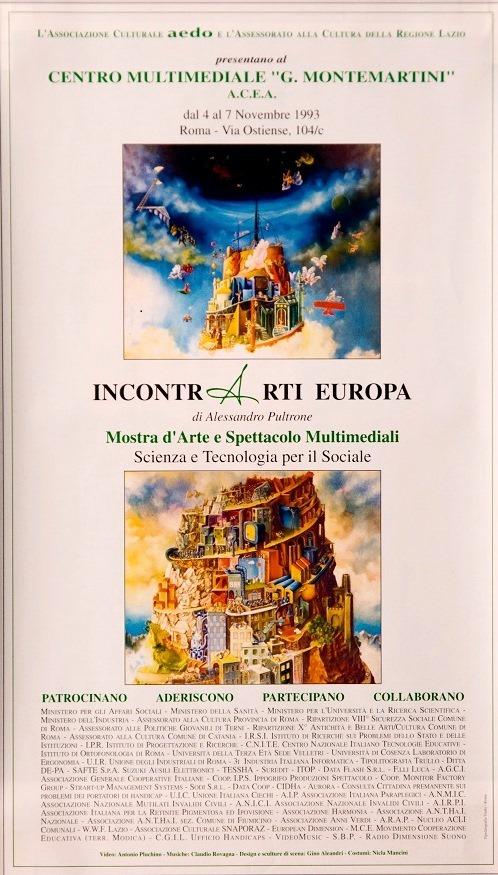 4 Alessandro Pultrone IncontrArti arte e scienza per il sociale 1993