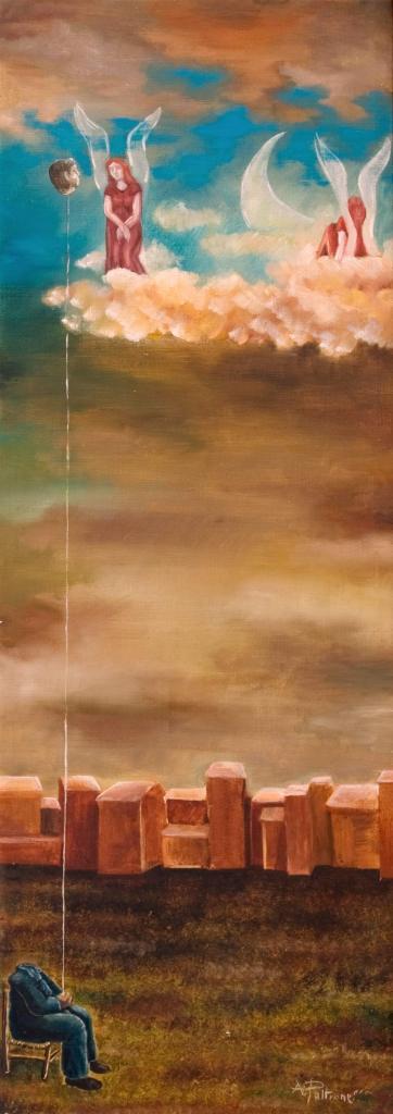 Alessandro-Pultrone--DIALOGHI-INTERIORI-olio-su-tela-26-x-74del-1997-