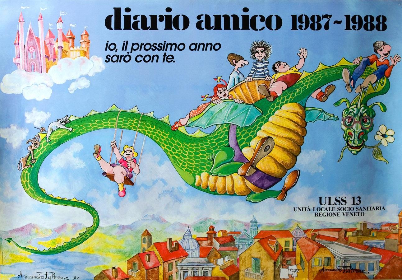 Alessandro Pultrone autore Diario Amico