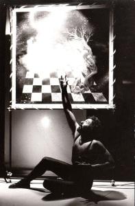 Alessandro Pultrone protagonista mostra di pittura e spettacolo Compicthea
