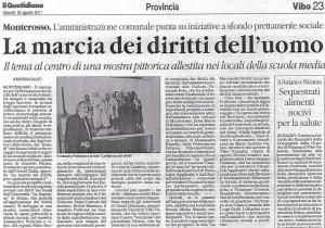 MARCIA DEI DIRITTI a Monterosso Calabro