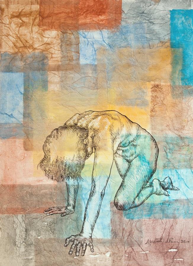 STANCHEZZA QUOTIDIANA di Alessandro Pultrone 2010 cm 50x70