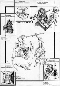 alessandro pultrone _disegni copertine medicina 1978