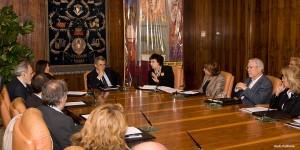 conferenza stampa Mostra al RETTORATO SAPIENZA UNIVERSITA' DI ROMA